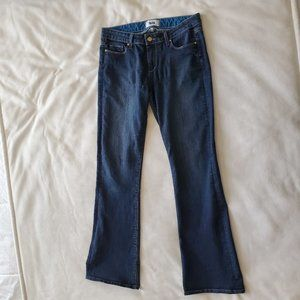 PAIGE Jeans Skyline Boot Cut Size 29 Dark Blue